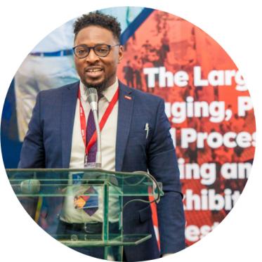DR. AKINTAYO ADISA, Manager, BASF WEST AFRICA