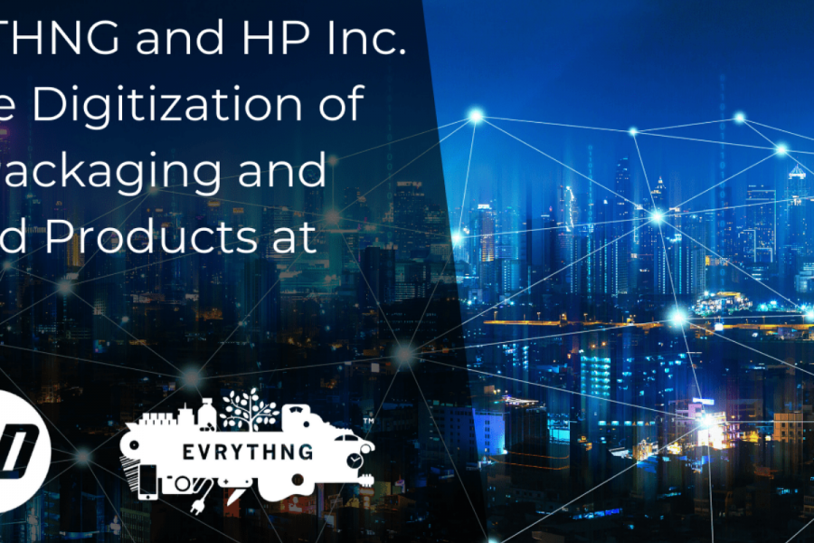 EVRYTHNG and HP Inc. Enable Digitization of CPG Packaging and Printed Products at Scale image