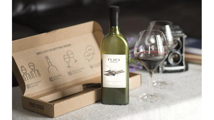 Sustainably Optimized Flat Wine Bottles Enter The Market image